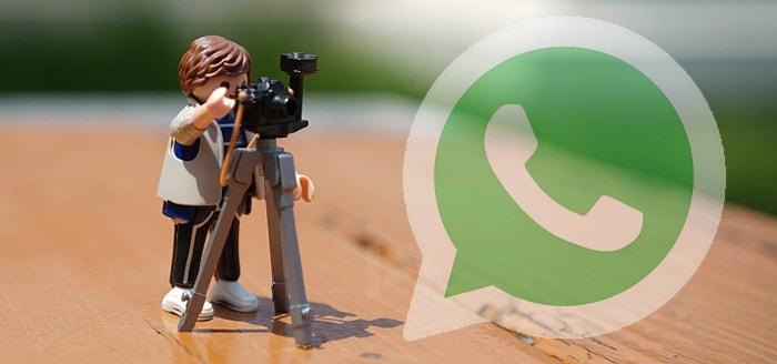 WhatsApp laat je geluid van video's dempen voor delen